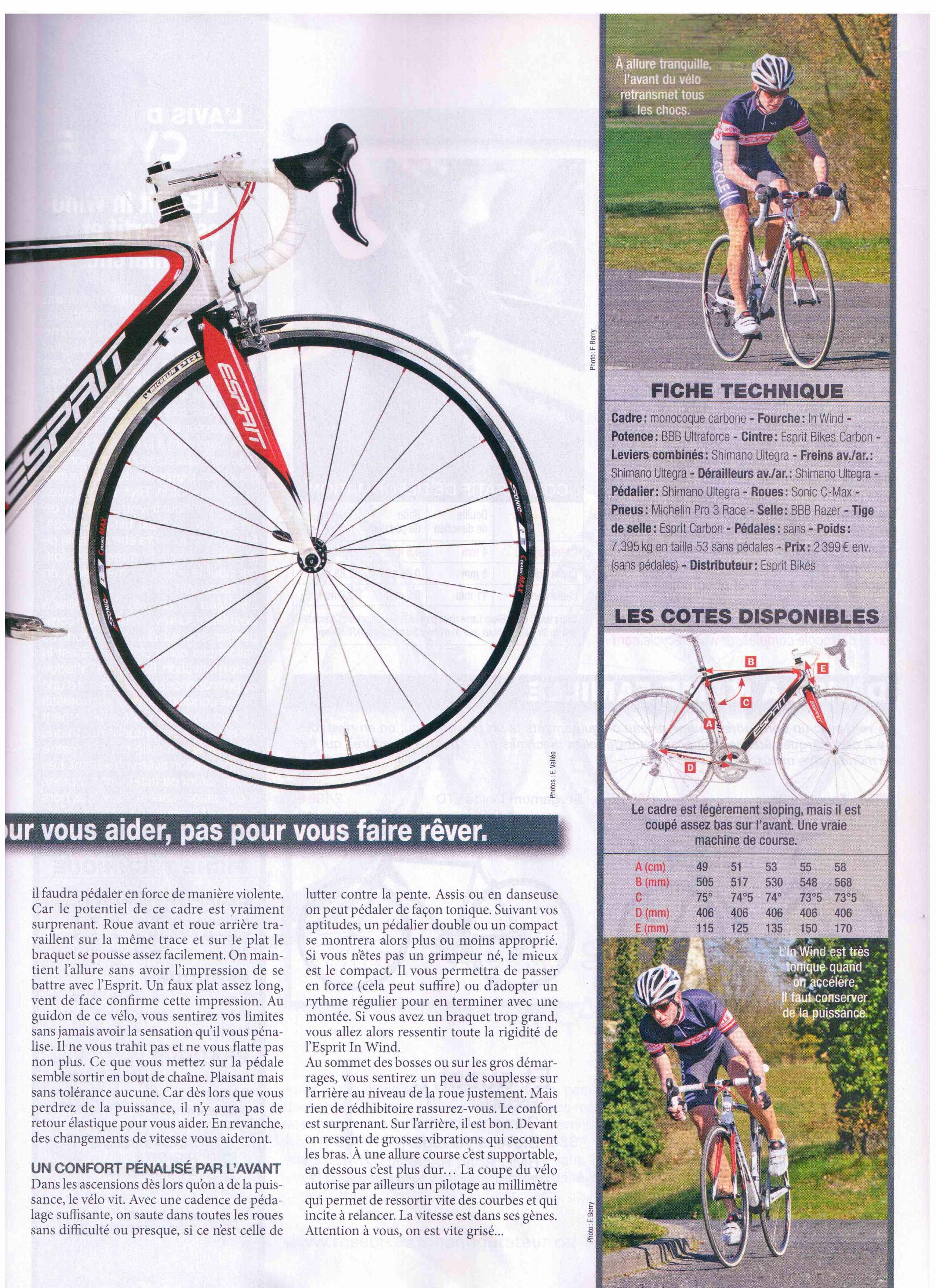 essais dans le magazine le cycle du mois de mai 2011 ko re k cycling factory. Black Bedroom Furniture Sets. Home Design Ideas